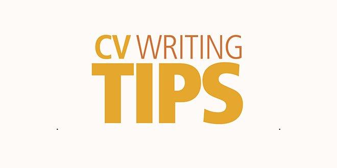 CV writing advice